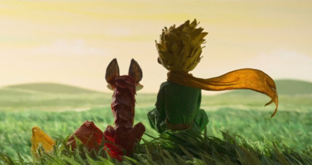 "A still from ""Le Petit Prince"" an On Animation Studio film, 2015."