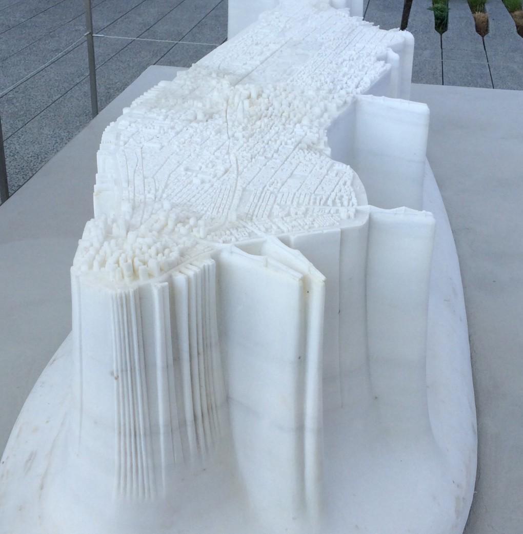 Sculpture by Yutaka Sone (Photo by Heidi M. Kim)