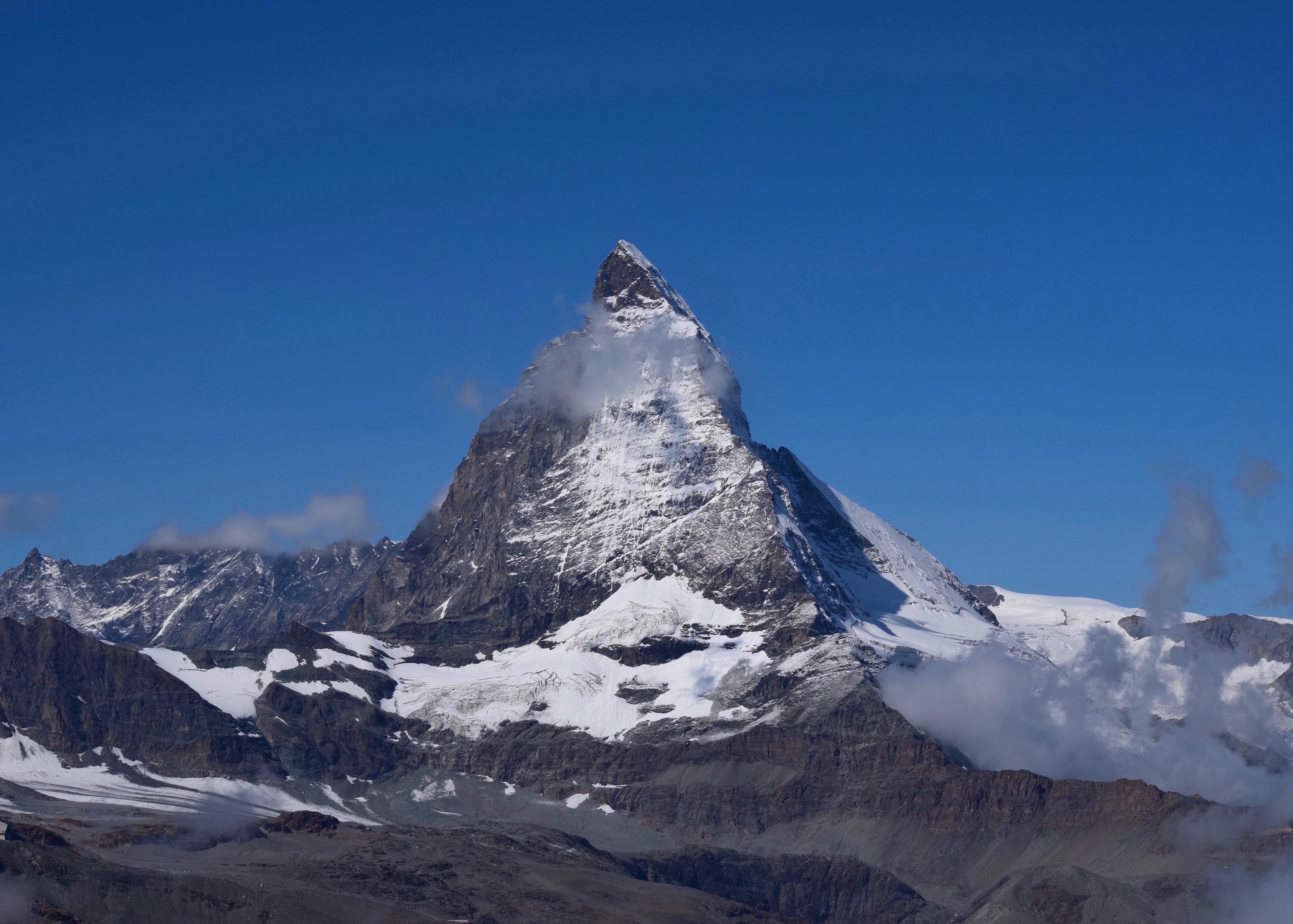 Matterhorn peak in summer, photo by Heidi M. Kim