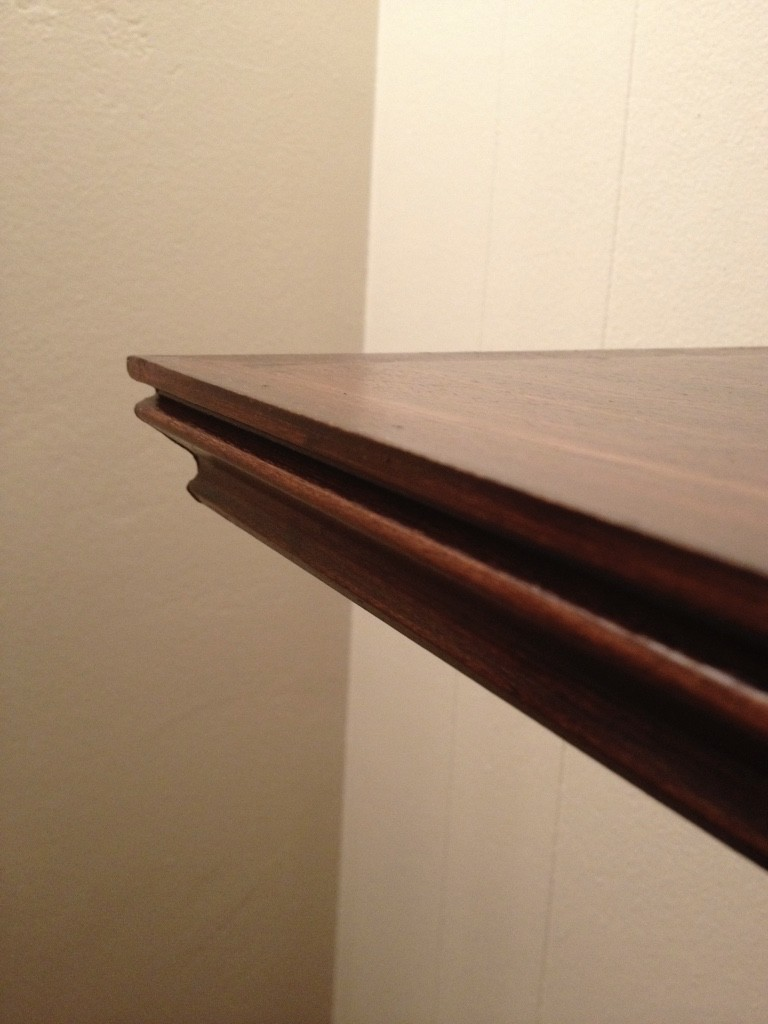 Stain and Attach to 2x4 in walls
