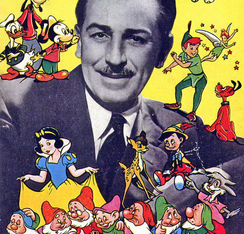 Walt Disney, image for non-commercial reuse