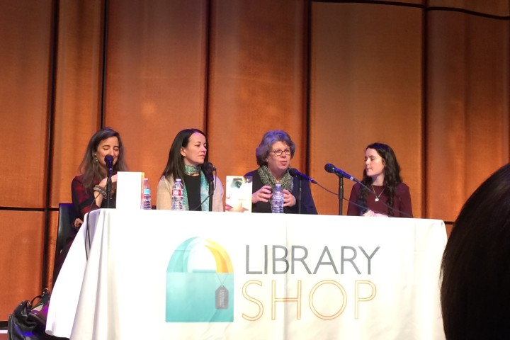 Jandy Nelson, Ally Condie, and Meg Wolitzer at San Diego Public Library